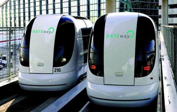 Samojeżdżące pojazdy GATEway na ulicach Greenwich
