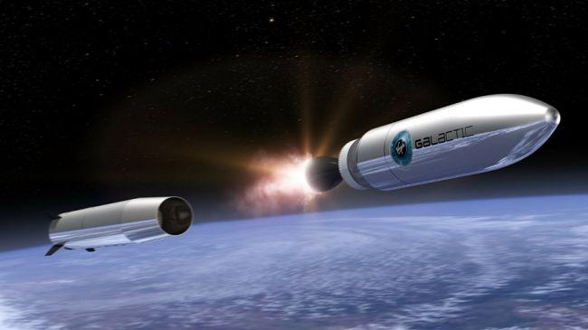 Rakiety Virgin Galactic LauncherOne pomogą wystrzelić OneWeb