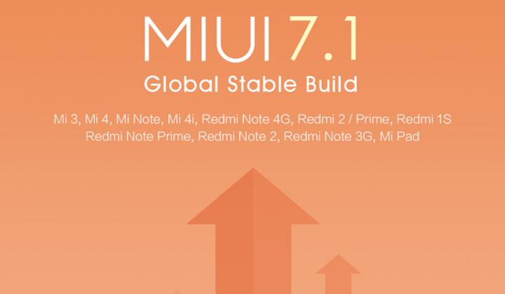 MIUI 7.1 - stabilna wersja międzynarodowa