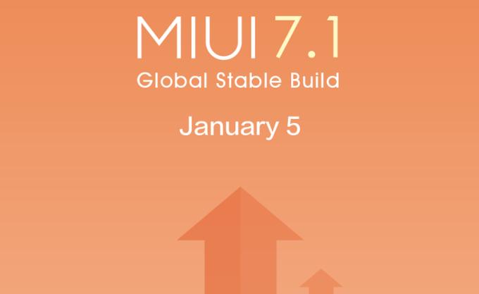 MIUI 7.1 OTA Xiaomi