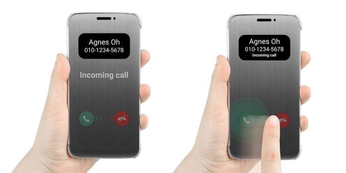 LG G5 z dotykowa obudową Quick Case
