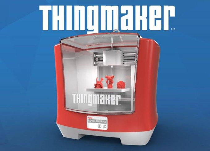 Drukarka 3D ThingMaker od firmy Mattel (300$)