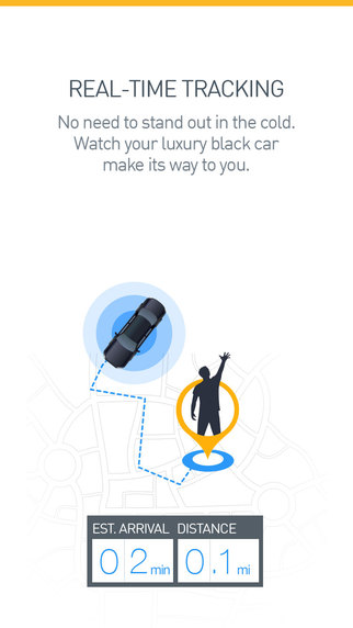 Aplikacja mobilna Gett - GetTaxi (screen)