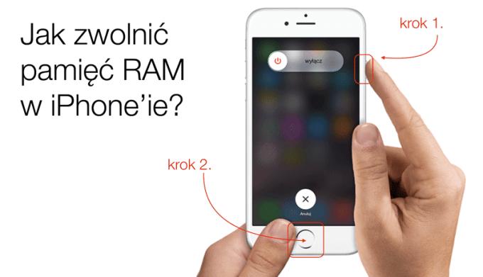 Jak zwolnić pamięć RAM w iPhone'ie lub iPadzie z systemem iOS?
