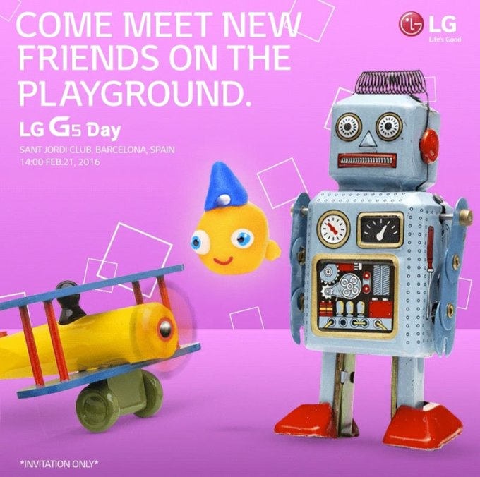 LG G5 Day, 21 lutego na MWC 2016