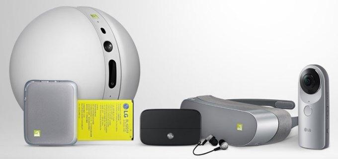 Akcesoria do LG G5 (LG Friends)