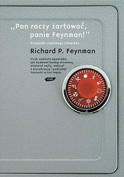 Pan raczy żartować panie Feynman - okładka książki