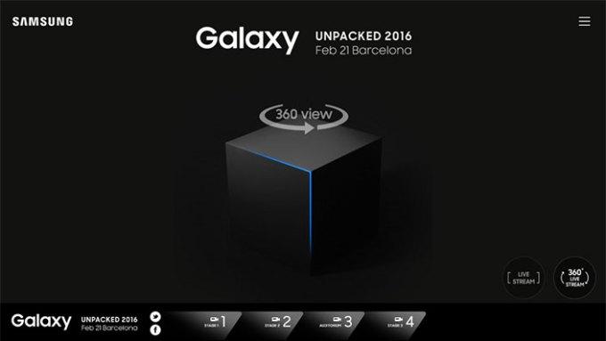 Samsung Galaxy Unpacked 2016 online (PC, Mac)