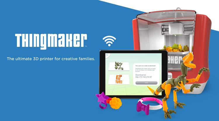 Drukarka 3D od Mattel - ThingMaker