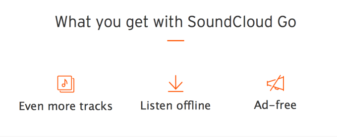 Korzyści z posiadania subskrypcji w SoundCloud Go