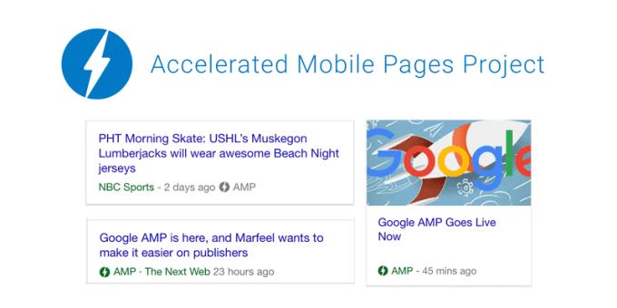 AMP - mobilne wyniki wyszukiwania Google