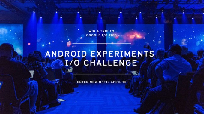 Android Experiments I/O Challenge 2016