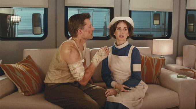 """Ujecie z reklamy Apple TV (4. generacji) pt. """"The Kiss"""""""