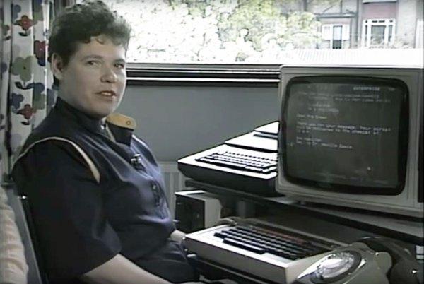 Oto, jak wysyłano e-maile w 1984 roku