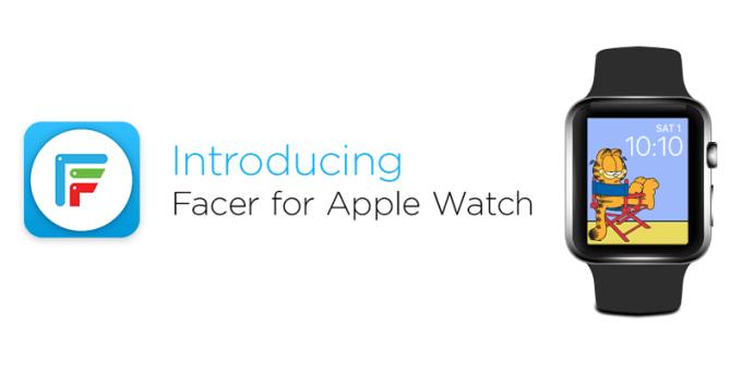 Facer - aplikacja Apple Watch