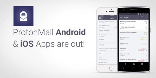 ProtonMail na Androida i iOS-a