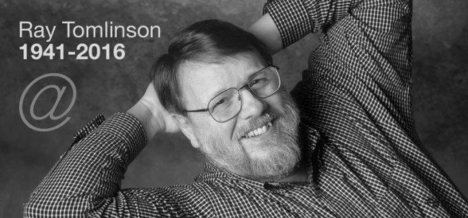 Ray Tamlinson (1941-2016) - twórca e-maila
