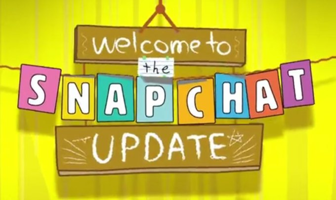 Snapchat update Chat 2.0