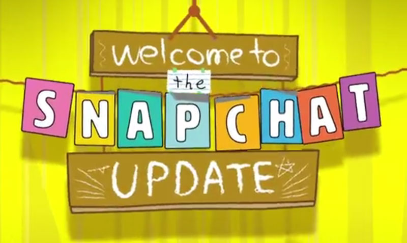Snapchat update Chat 2.0