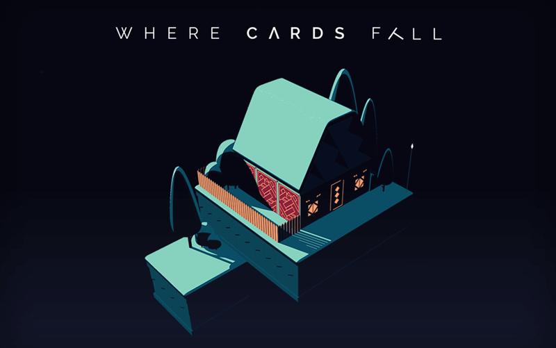 Gra mobilna Where Cards Fall