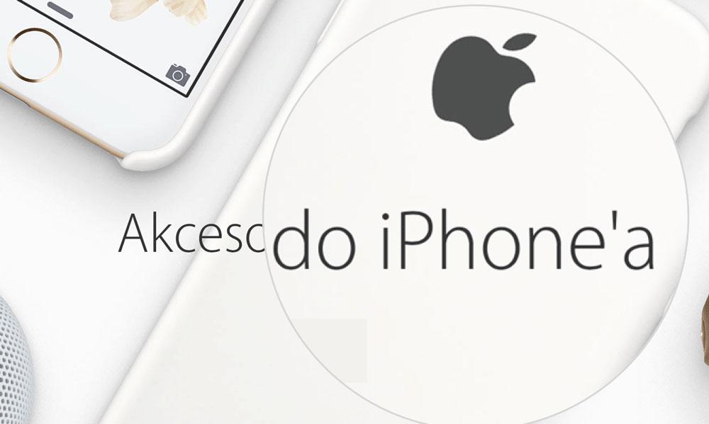 Akcesoria do iPhone'a