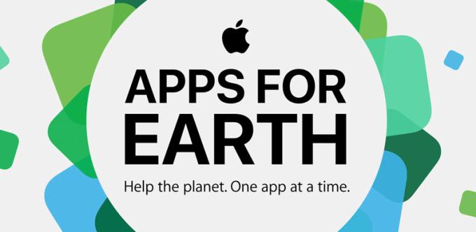 Sekcja specjalna Apps for Earth w sklepie App Store