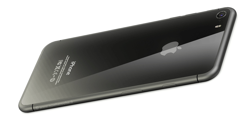 Koncept iPhone'a ze szklaną obudową (tak będzie wyglądał iPhone w 2017r.?)