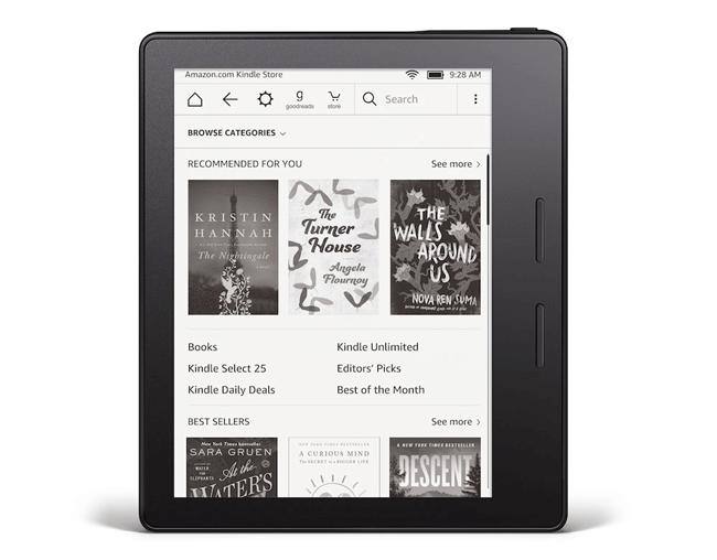 Przód czytnika Kindle Oasis