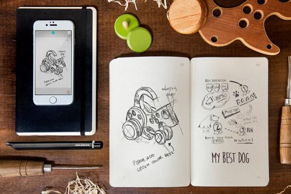 Pisz w notatniku Moleskine, odczytuj na smartfonie