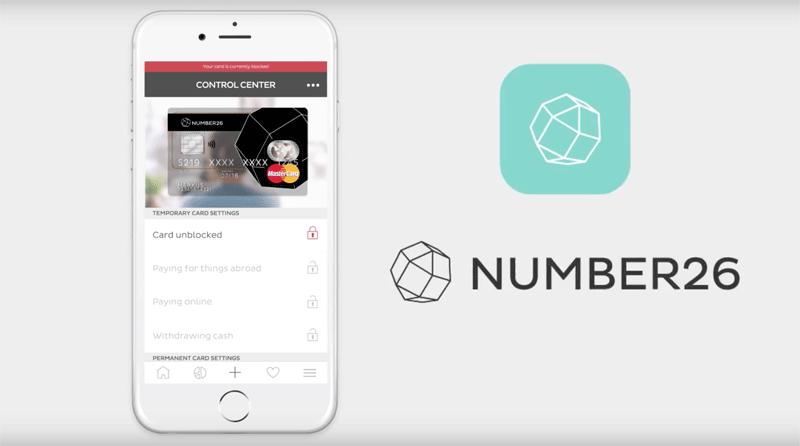Number26 - mobilny bank z Niemiec