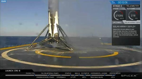 No i wylądowali… SpaceX tworzy historię