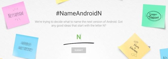 Wymyśl nazwę dla Androida N