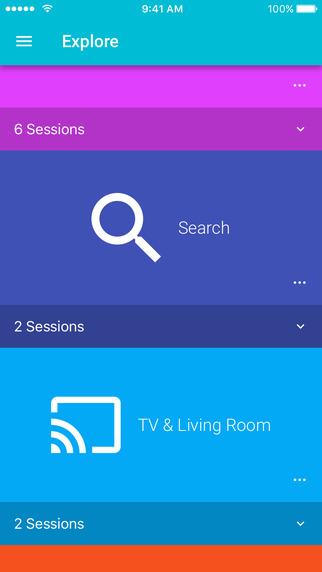 Aplikacja Google I/O na iPhone'a