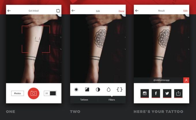 Ink Hunter Zrób Sobie Wirtualny Tatuaż Mobirankpl