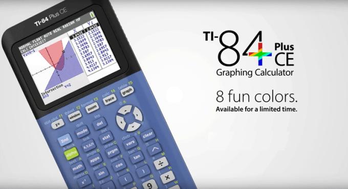 Kalkulator graficzny TI-84 Plus CE