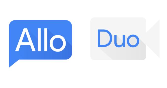 Nowe ikony aplikacji mobilnych Allo i Duo od Google'a