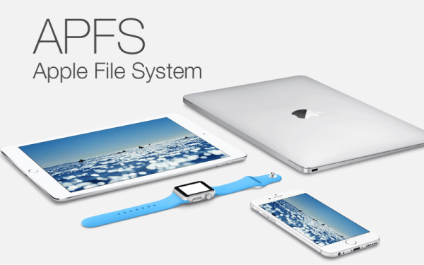 Apple File System (APFS) zastąpi HFS+