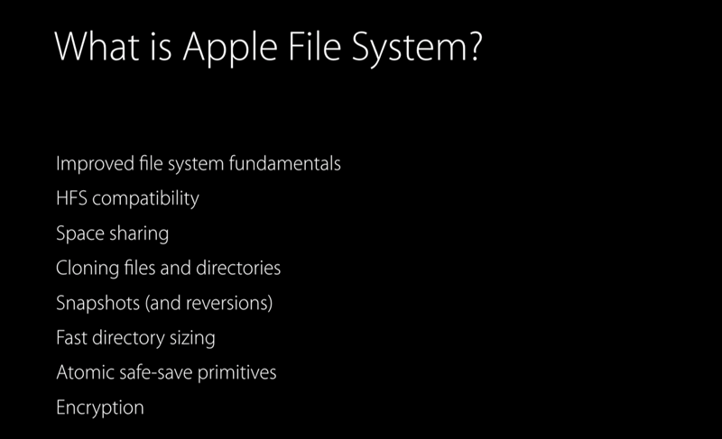 Co to jest Apple File System (APFS)?