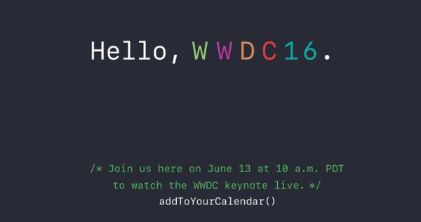 Jak oglądać konferencję Apple'a WWDC16 na żywo?