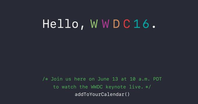 Jak oglądać konferencję Apple'a WWDC 2016 na żywo?
