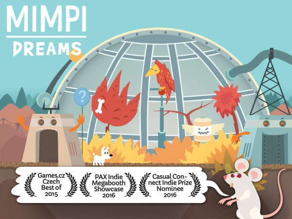 Mimpi Dreams grą tygodnia w App Store