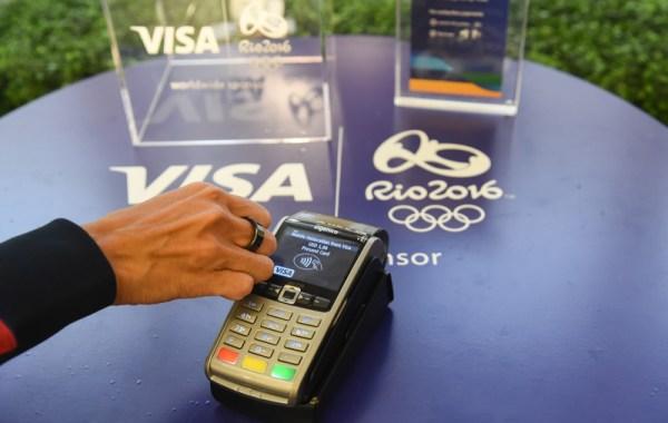 Pierścień płatniczy Visa na Rio 2016