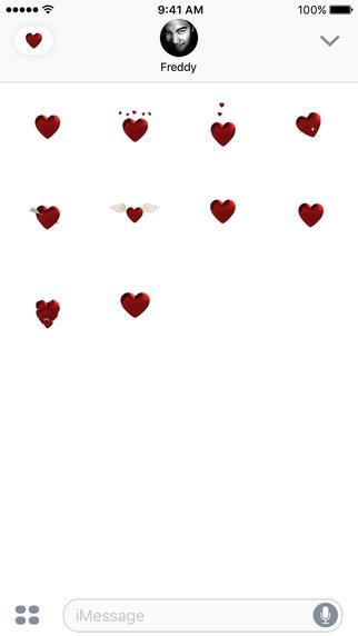 Hearts Emoji iOS 10