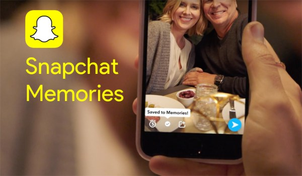 Snapchat Memories, czyli wspomnienia w rolce aparatu