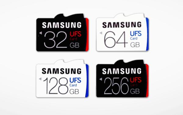 Samsung zapowiedział karty pamięci UFS
