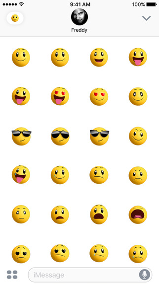 Smileys iOS 10