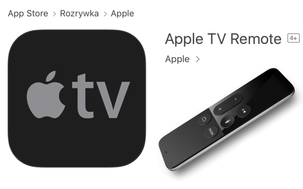 Nowy pilot Apple TV Remote na iPhone'a