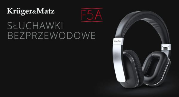 Krüger&Matz F5A słuchawki Bluetooth z redukcją szumów