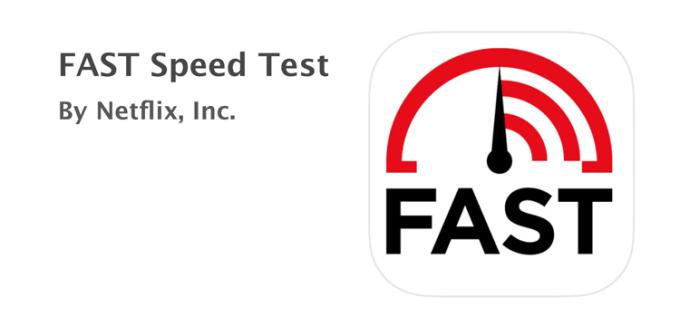 Aplikacja mobilna FAST Speed Test od Netflix