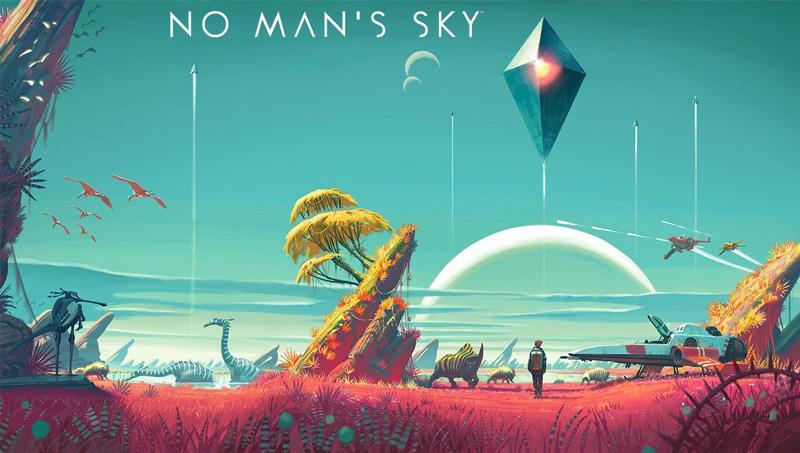 No Man's Sky - grafika z gry (soundtrack)